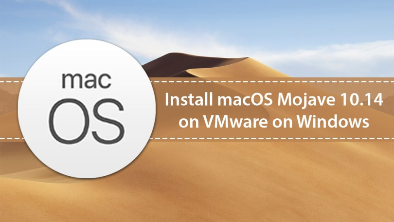 how to download mac os on vmware