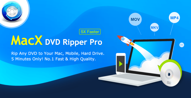 How to Rip DVD to MP4 in 5 mins with MacX DVD Ripper Pro
