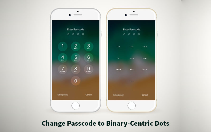 How to Replace Your iPhone and iPad Passcode to Binary-Centric Dots