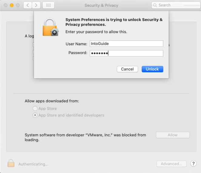 How to Enter Full Screen Mode on VMware on macOS 10.15 Catalina