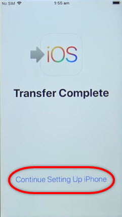 Transfer Android Data to iOS