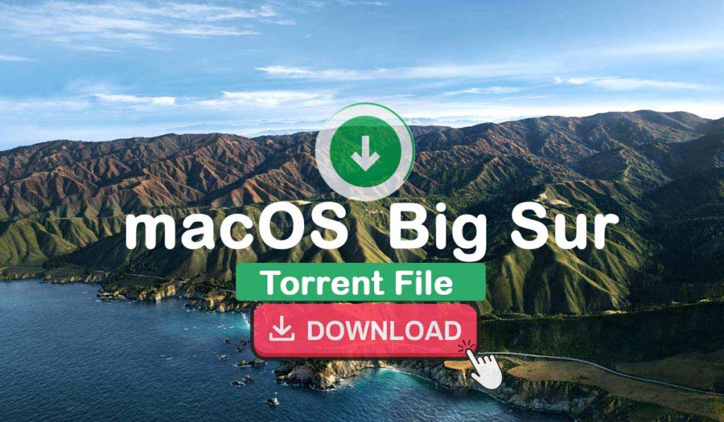 Download macOS Big Sur Torrent File
