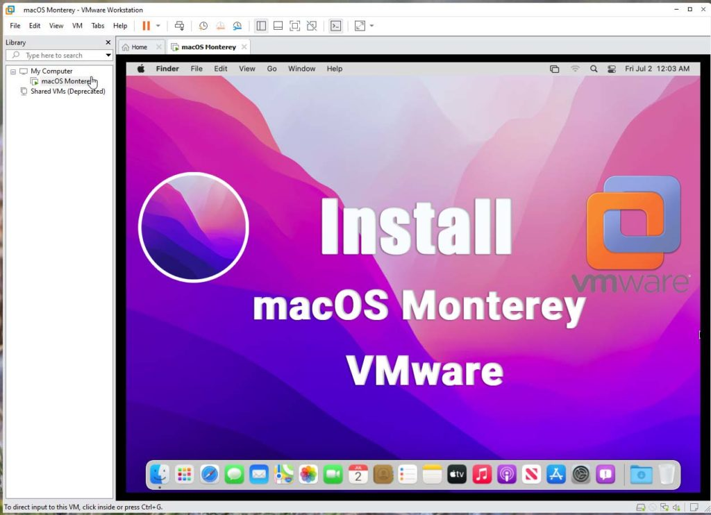 How to Install macOS Monterey on VMware on Windows